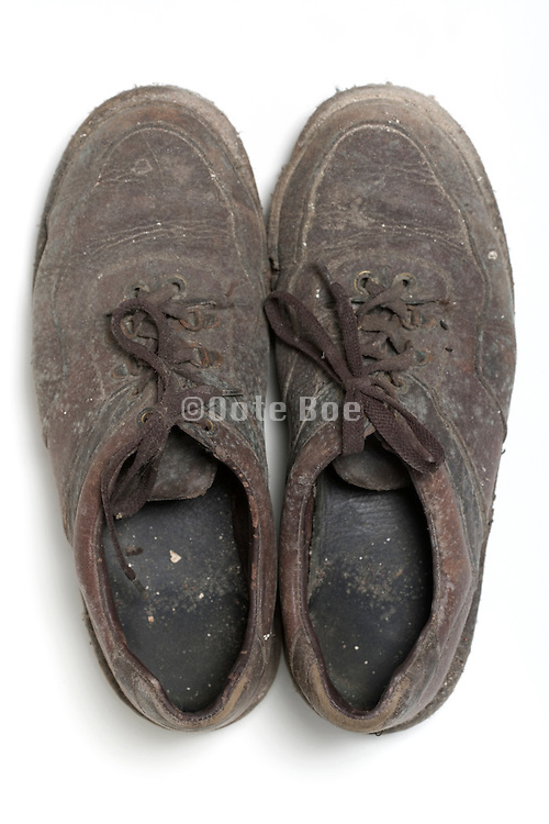 old used shoes