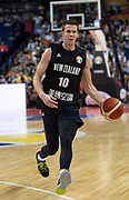 NANJING,CHINA:SEPTEMBER 5th 2019.FIBA World Cup Basketball 2019 Group phase match.Group F. New Zealand vs Greece.Small Forward Tom ABERCOMBIE.<br /> Photo by Jayne Russell / www.PhotoSport.nz