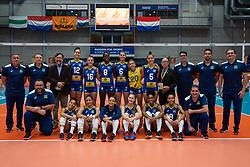 Team Brazil after Brazil - Netherlands, FIVB U20 Women's World Championship on July 11, 2021 in Rotterdam