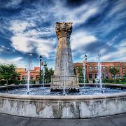 Lafayette Square Park, St, Louis, MO.