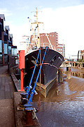 Arctic Corsair historic ship, River Hull, Hull, Yorkshire, England
