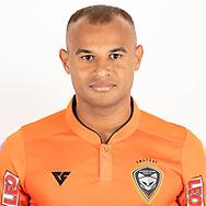 THAILAND - JUNE 25: Yayar Kunath #27 of Nakhonratchasrima Mazda FC on June 25, 2019.<br /> .<br /> .<br /> .<br /> (Photo by: Naratip Golf Srisupab/SEALs Sports Images/MB Media Solutions)
