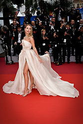"""""""A Hidden Life (Une Vie Cachée)"""" Red Carpet - The 72nd Annual Cannes Film Festival. 19 May 2019 Pictured: Kimberley Garner. Photo credit: Daniele Cifalà / MEGA TheMegaAgency.com +1 888 505 6342"""
