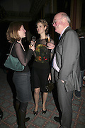 ALICE NORTON, PHILIPPA NOAKES AND OWEN RAFFERTY, Literary Review's Bad Sex In Fiction Prize.  In & Out Club (The Naval & Military Club), 4 St James's Square, London, SW1, 29 November 2006. <br />Ceremony honouring author who writes about sex in a 'redundant, perfunctory, unconvincing and embarrassing way'. ONE TIME USE ONLY - DO NOT ARCHIVE  © Copyright Photograph by Dafydd Jones 248 CLAPHAM PARK RD. LONDON SW90PZ.  Tel 020 7733 0108 www.dafjones.com