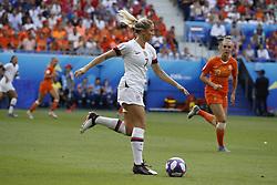 USA's Abby Dahlkemper during the FIFA Women soccer World Cup 2019 Final match USA vs Netherland in Groupama Stadium, Lyon, France on July 7th, 2019. USA won 2-0. Photo by Henri Szwarc/ABACAPRESS.COM