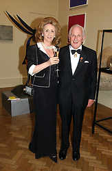 LORD & LADY WOLFSON OF MARYLEBONE at The Royal Academy dinner before the official opening of the Summer Exhibition held at the Royal Academy of Art, Burlington House, Piccadilly, London W1 on 6th June 2006.<br /><br />NON EXCLUSIVE - WORLD RIGHTS