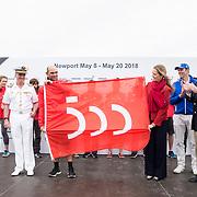© Maria Muina I MAPFRE. Presentación de la Bandera con motivo del V Centenario de la Primera Vuelta al Mundo iniciada por Fernando de Magallanes y completada por Juan Sebastián el Cano.
