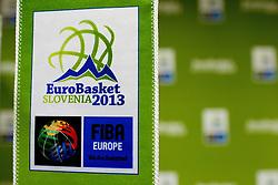 Eurobasket 2013 promotions during sports marketing conference Sporto 2011, on November 21, 2011 in Hotel Slovenija, Portoroz / Portorose, Slovenia. (Photo By Vid Ponikvar / Sportida.com)