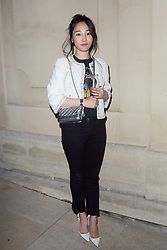 Bai Bai He arriving the Chanel 'Code Coco' Watch Launch Party as part of the Paris Fashion Week Womenswear Spring/Summer 2018 on October 3, 2017 in Paris, France, October 03 2017. Photo by Nasser Berzane/ABACAPRESS.COM