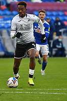 Football - 2020 / 2021 Sky Bet Championship - Cardiff City vs Swansea City - Cardiff City Stadium<br /> <br /> Jamal Lowe of Swansea on the way to his 2nd goal in a stadium without fans because of the pandemic crisis<br /> <br /> COLORSPORT/WINSTON BYNORTH