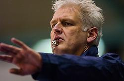 04-01-2003 NED: Europees Kampioenschappen Allround, Heerenveen<br /> Items schaatssport, VIP, organisatie, starters, referee