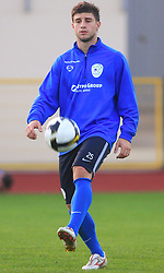 Bojan Jokic (13) at practice of Slovenian men National team, on October 13, 2008, in Domzale, Slovenia.  (Photo by Vid Ponikvar / Sportal Images)