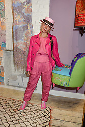 Minnie Kemp at I Am Bateman: The Relations VIP Preview hosted by Selina Beaudry, Clemmie Myers and Natalie Tredgett at 2 Blenheim Crescent, London W11, England. 25 April 2019. <br /> <br /> ***For fees please contact us prior to publication***