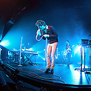 """Passion Pit performs in support of their CD """"Manners"""" at the Moore Theatre in Seattle, Washington, November 30th, 2010"""