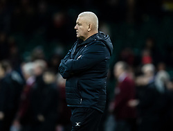 Barbarians head coach Warren Gatland during the pre match warm up<br /> <br /> Photographer Simon King/Replay Images<br /> <br /> Friendly - Wales v Barbarians - Saturday 30th November 2019 - Principality Stadium - Cardiff<br /> <br /> World Copyright © Replay Images . All rights reserved. info@replayimages.co.uk - http://replayimages.co.uk