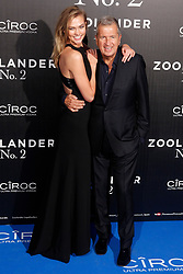 File photo : Karlie Kloss and Mario Testino attend the Zoolander 2 premiere at Capitol theater in Madrid, Spain, February 1, 2016. Photographer to the stars Mario Testino is a favourite of the Royal Family but he is facing a stream of sexual misconduct allegations from male models. Fashion brands Burberry and Michael Kors moved quickly to cut ties with him. He had been a front-runner to be the official photographer at the wedding of Prince Harry and Meghan Markle but has been ruled out following the uproar. Photo by Archie Andrews/ABACAPRESS.COM