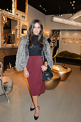 ROXIE NAFOUSI at the PAD London 2015 VIP evening held in the PAD Pavilion, Berkeley Square, London on 12th October 2015.