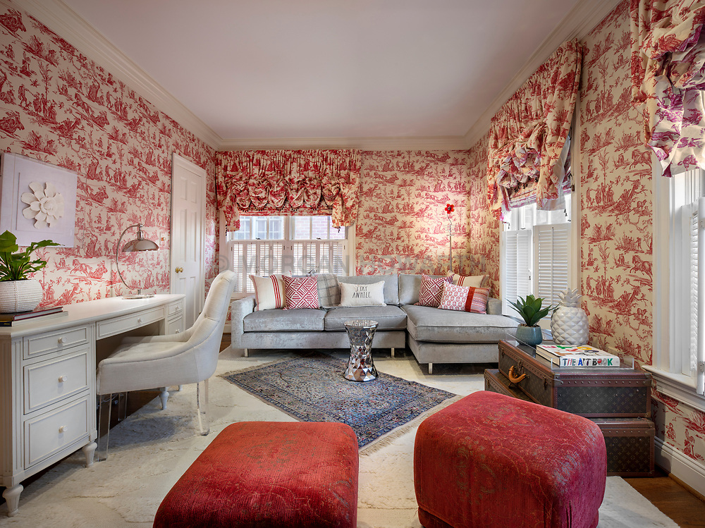 ALS_DC Study,toile,wallpaper,red,