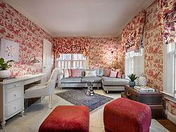 ALS_DC Study,toile,wallpaper,red,