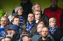 26.11.2011, Signal Iduna Park, Dortmund, GER, 1. FBL, Borussia Dortmund vs FC Schalke 04, im Bild Schalke-Boss Clemens Tönnies/ Toennies im Schalker Fanblock // during Borussia Dortmund vs. FC Schalke 04 at Signal Iduna Park, Dortmund, GER, 2011-11-26. EXPA Pictures © 2011, PhotoCredit: EXPA/ nph/ Kurth..***** ATTENTION - OUT OF GER, CRO *****