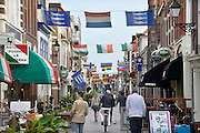 Nederland, Scheveningen, 28-10-2012Winkelstraat van de badplaats Scheveningen.Foto: Flip Franssen/Hollandse Hoogte