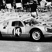 #14, Porsche 904 GTS, Mike De Udy and Peter de Klerk (finished 4th) at the Kyalami 9H at Johannesburg, South Africa, 1965