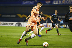 December 13, 2018 - Zagreb, Croatia - ZAGREB, CROATIA - DECEMBER 13 :  Ivan Santini forward of Anderlecht pictured during the Europa League Group Stage - Group D match between Dinamo Zagreb and Rsc Anderlecht on december 13, 2018 in Zagreb, Croatia, 13/12/2018 (Credit Image: © Panoramic via ZUMA Press)