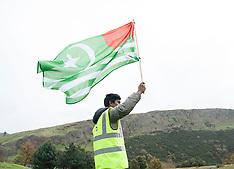 Kashmir protest Scottish Parliament | Edinburgh | 26 October 2017.