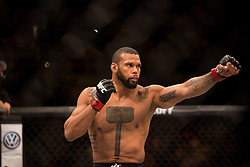 September 23, 2018 - Sao Paulo, Sao Paulo, Brazil - THIAGO SANTOS MARRETA (BRA) during the UFC Fight Night Sao Paulo at Ibirapuera Gymnasium in Sao Paulo, Brazil. (Credit Image: © Paulo Lopes/ZUMA Wire)