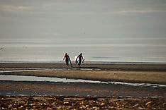 Paddle Board surfers | Troon beach | 2 November 2017