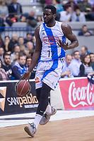 Gipuzkoa Basket Michael Fakuade during Liga Endesa match between San Pablo Burgos and Gipuzkoa Basket at Coliseum Burgos in Burgos, Spain. December 30, 2017. (ALTERPHOTOS/Borja B.Hojas)