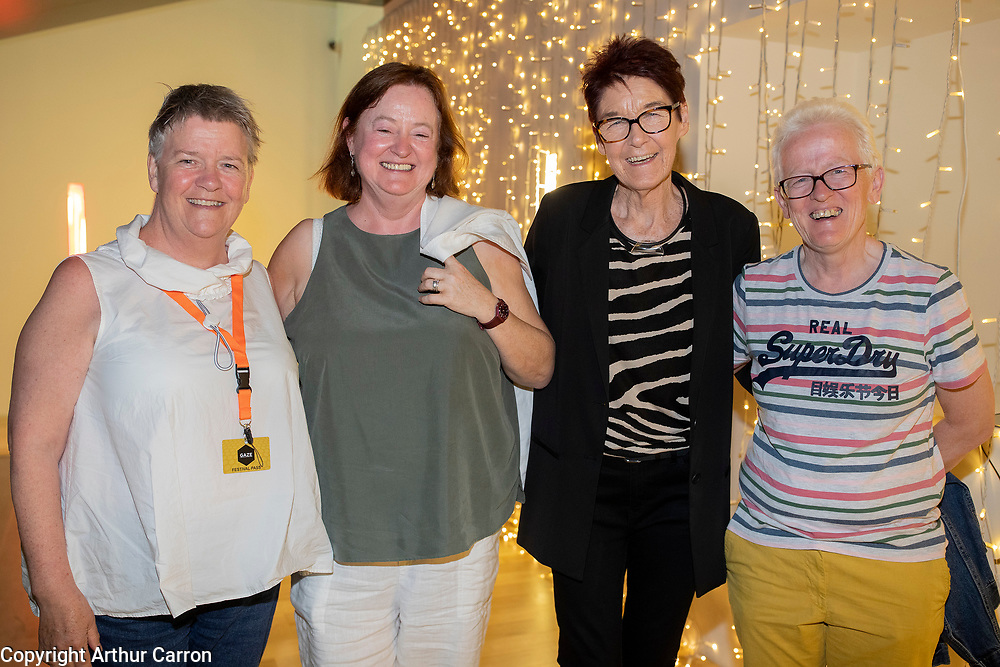 NO FEE PICTURES<br />4/8/19 Mary McDermott,  Healy, Ailbhe Smyth and Louise Moloney pictured at the GAZE International LGBT Film Festival at the Lighthouse Cinema in Smithfield, Dublin. Picture: Arthur Carron