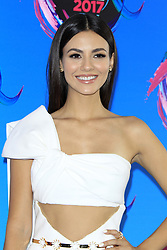 August 13, 2017 - Los Angeles, CA, USA - LOS ANGELES - AUG 13:  Victoria Justice at the Teen Choice Awards 2017 at the Galen Center on August 13, 2017 in Los Angeles, CA (Credit Image: © Kay Blake via ZUMA Wire)