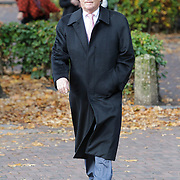 NLD/Laren/20121031 - Uitvaart Joop Stokkermans, Fons van Westerloo