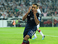 Fotball<br /> Tyskland v Skottland<br /> 07.09.2014<br /> Foto: Witters/Digitalsport<br /> NORWAY ONLY<br /> <br /> 1:1 Jubel Ikechi Anya (Schottland)<br /> Fussball, EM-Qualifikation, Deutschland - Schottland