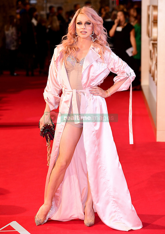 Courtney Act attending the UK Premiere of A Star is Born held at the Vue West End, Leicester Square, London.