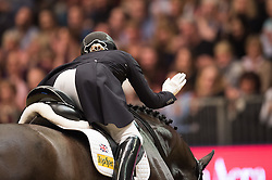 Watson-Greaves Hayley, (GBR), Rubins Nite<br /> Grand Prix Freestyle <br /> Reem Acra FEI World Cup Dressage <br /> London International Horse Show<br /> © Hippo Foto - Jon Stroud