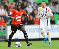 Fotball<br /> Frankrike<br /> Foto: DPPI/Digitalsport<br /> NORWAY ONLY<br /> <br /> FOOTBALL - FRENCH CHAMPIONSHIP 2009/2010 - L1 - STADE RENNAIS FC v US BOULOGNE  - 8/08/2009<br /> <br /> RENNES<br /> <br /> ISMAEL BANGOURA (REN)