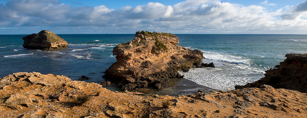 Australian southern coastline Sorrento backbeach, Victoria