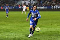 Francois MODESTO - 18.04.2015 - Bastia / Reims - 33eme journee de Ligue 1<br />Photo : Michel Maestracci / Icon Sport
