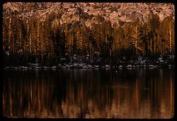 Ragged Peak, Young Lakes, Yosemite National Park. View shot on Kodachrome II, Nikon Ftn camera, Nikkor 35mm f/2 lens, 31 July 1973
