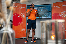 Roy Meyer, Ambassador Olympic Festival during the launch TeamNL Olympic Festival on June 23, 2021 in The Hague