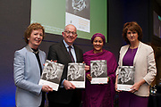 14/01/2015<br /> (L-R) Mary Robinson, UN Secretary-General's Special Envoy on Climate Change, Charlie Flanagan, TD, Minister for Foreign Affairs and Trade, Amina Mohammed, UN Secretary-General's Special Adviser on Post-2015 Development Planning and Joan Burton, TD, Tánaiste launch the second National Action Plan on Women, Peace and Security at Dublin Castle.<br /> PIC - LENSMEN PHOTOGRAPHY<br /> 14TH JANUARY 2015 Mary Robinson, UN Secretary-General's Special Envoy on Climate Change, Charlie Flanagan, TD, Minister for Foreign Affairs and Trade, Amina Mohammed, UN Secretary-General's Special Adviser on Post-2015 Development Planning and Joan Burton, TD, Tánaiste launch the second National Action Plan on Women, Peace and Security at Dublin Castle.<br /> PIC - LENSMEN PHOTOGRAPHY<br /> 14TH JANUARY 2015