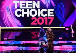 LOS ANGELES - AUGUST 13: Maddie Ziegler accepts the Choice Dancer award onstage at FOX's 'Teen Choice 2017' at the Galen Center on August 13, 2017 in Los Angeles, California. (Photo by Frank Micelotta/FOX/PictureGroup) *** Please Use Credit from Credit Field ***