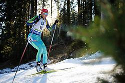 Olena Pidhrushna (UKR) during Women 12.5 km Mass Start at day 4 of IBU Biathlon World Cup 2015/16 Pokljuka, on December 20, 2015 in Rudno polje, Pokljuka, Slovenia. Photo by Ziga Zupan / Sportida