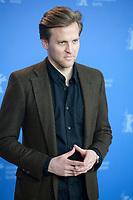 Actor Tobias Santelmann at the photocall for the film Out Stealing Horses (Ut Og Stjæle Hester) at the 69th Berlinale International Film Festival, on Saturday 9th February 2019, Hotel Grand Hyatt, Berlin, Germany.