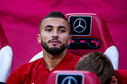 14-08-2018 NED: Champions League AFC Ajax - Standard de Liege, Amsterdam<br /> Third Qualifying Round,  3-0 victory Ajax during the UEFA Champions League match between Ajax v Standard Luik at the Johan Cruijff Arena / Zakaria Labyad #19 of Ajax