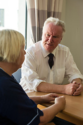 today Scottish Health Secretary Alex Neil,MSP, announced additional support for health boards. The support will be focused on improving the flow of patients through the NHS system. Mr Neil spoke to staff at NHS Lothian about their plans to invest the extra money and heard from patients about how they feel about being in hospital longer than necessary. Mr Neil discussed the new facilities with Sister Christine. McLaughlanEdinburgh, 7 August Ger Harley | SockPix.eu