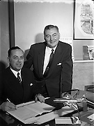 24/01/1958 <br /> 01/24/1958<br /> 24 January 1958<br /> <br /> Special for Aer Lingus - Mr G.C. Draper and Mr Hudson
