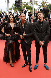May 14, 2019 - Cannes, France - CANNES, FRANCE - MAY 14: L-R) Andreea Sasu, Jeremy Meeks and Adam Abaida Atarshi attend the opening ceremony and screening of ''The Dead Don't Die'' during the 72nd annual Cannes Film Festival on May 14, 2019 in Cannes, France (Credit Image: © Frederick InjimbertZUMA Wire)